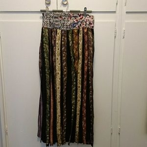 Boho Ethnic Long Skirt Sarong from Thailand
